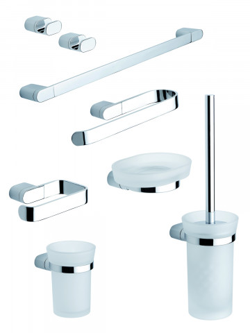 Set accessori bagno serie Mida